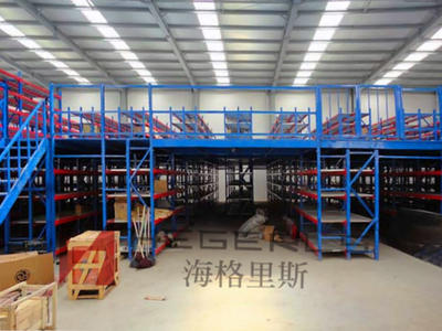 HEGERLS warehouse mezzanine racking
