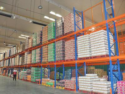 HEGERLS pallet shelves racking