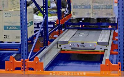 High-density Warehouse Shuttle Storage System
